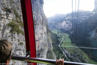 JoeTourist: Shilthorn &emdash; Lauterbrunnen valley